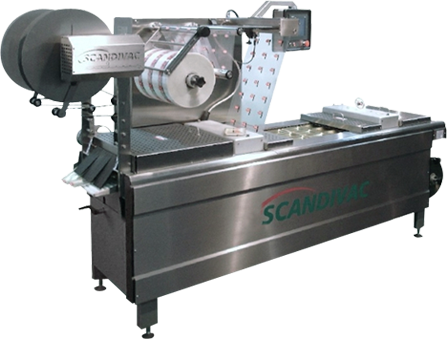 packaging equipment for thertoforming vacuum package