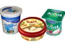 yogurt and ice cream packaging